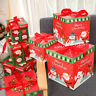 Christmas Eve Gift Box Large Xmas Present Wrapping Boxes Ribbon Lids Supply UK