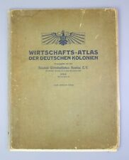 Wirtschafts - Atlas der deutschen Kolonien 1906