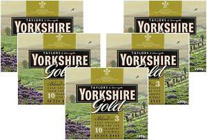Yorkshire Gold Tea, 80 Tea Bags, 160 - 400 Teabags - variety of packs