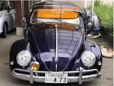 Vw Beetle Bug External Vintage Style Sun Visor Classic Acrylic Orange