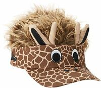 Flair Hair Giraffe Visor for Adults and Fits Some Children