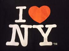 I Heart NEW YORK T Shirt Sz Large L Black