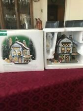 "New England Village Series / Dept 56 / "" Platt'S Candles And Wax / Nib"