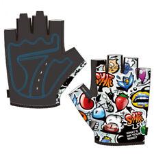 Summer Kids Cycling Half Finger Gloves Non-slip Boy Girl Outdoor Sports Gloves