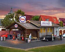 Vollmer 45599 H0 atelier de réparation pfizis garage avec Station-service