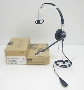 Jabra BiZ 2400 II Mono 3-in-1 Noise Canceling Telephone QD Headset 2406-820-205