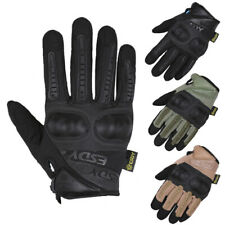 Tactical Mechanic Wear Safety Gloves Mens Heavy Duty Work Security Police Patrol