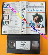 VHS film CARO FRATELLO animazione YAMATO VIDEO SERIES TV YS-0401 (F112) no dvd