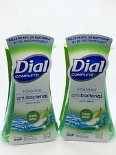 2 Dial Complete Foaming Hand Soap Fresh Pear Scent ANTIBACTERIA