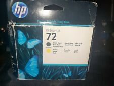 HP 72 - DesignJet Printhead -Matte Black and Yellow - C9384A