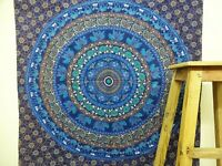 Mandala Twin bed cover Tapestry Bedspread Bohemian Wall Hanging TA42