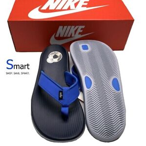 NIB SIZE 7 MEN Nike Kepa Kai Thong Sandals Slippers Blue Grey White EUR 40 25cm