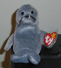 Ty Beanie Baby ~ SLIPPERY the Seal ~ MWMT
