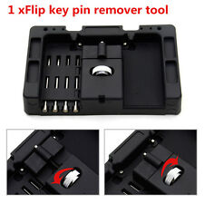 1Set Car Folding Quick Remover Installation Flip Key Pin Remover Fixing Tool Kit