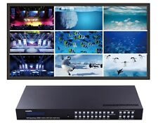 3x3 TV Video Wall Controller HDMI 9x9 Matrix Switcher RS232 Security Processor