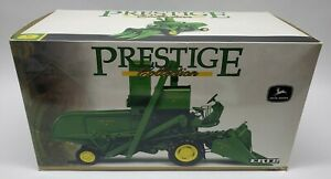 John Deere 45 Combine By Ertl 1/16 Scale Prestige Collection Highly Detailed NIB
