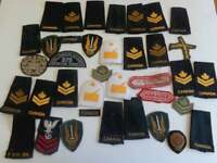 Vintage Canadian Military Patches, Shadow Box Project, Patches, Assorted Patches