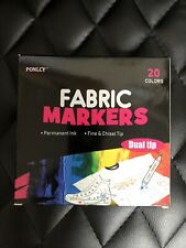 Ponlcy Fabric Markers 20 Count