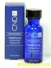 CND NailPrime Acid-free Primer #07010 Nail Prime 0.5fl oz