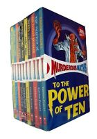 Murderous Maths 10 Books Box Set Kids Learning Children Activity Boys Girls New