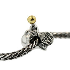 Authentic Trollbeads Silver & 18K Gold 41817 Sea Lion :0