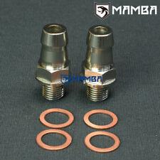 """Turbo Water Coolant Adapter Fitting Kit 5/8"""" Barb Garrett T25 T28 TB25 TB28 JB"""
