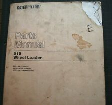 Cat Caterpillar 916 Front End Wheel Loader Parts Manual Book 2xb Series Catalog