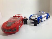 2 X Brand New Scalextric C1323 QUICK BUILD Cops 'n' Robbers 1:32 Slot Cars