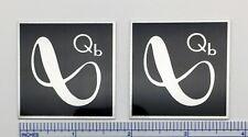 Infinity Qb Speaker Badge Logo Custom Made Aluminum