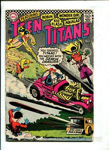 TEEN TITANS #3 - REVOLT AT HARRISON HIGH (4.0) 1966