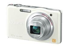Panasonic Digital Camera Lumix Sz7 10X Optical White Dmc-Sz7-W F/S