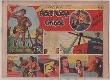 collana I CAPOLAVORI n.5 ROBINSON CRUSOE' notte tragica ARC A.R.C. 1948 defoe