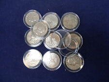 50 Guardhouse Coin Capsules for Barber, Washington Quarter Dollar Silver, 24mm
