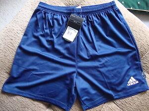 Adidas Parma Football Shorts & Socks Set - Navy Blue - BNWT L