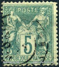 FRANCE SAGE N° 64 AVEC OBLITERATION COTE 45€