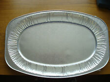 "100 x 22"" Silver Foil Platters Sandwich Trays Catering BBQ Party Buffet"