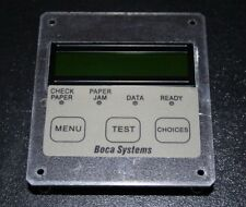 BOCA Systems Mini Plus Ghostwriter Series Control Panel 161H-D Used Working
