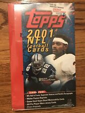 2001 Topps Hobby Football Box Possible DREW BREES rookie... Free Ship