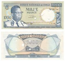 Billete Congo 1000 francos desde 1964-P.8a - AUNC.