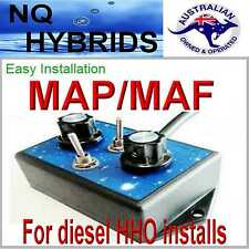 MAP/MAF enhancer  DUAL EDGE   MAP   HHO HYDROGEN GENERATOR ENHANCED SYSTEMS