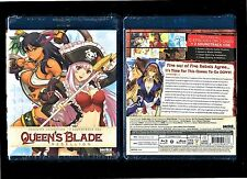 Queen's Blade: Rebellion - Complete Collection (Brand New 4-Disc Blu Ray/CD Set)