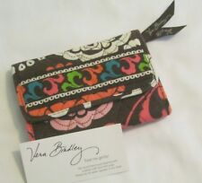 Vera Bradley LOLA Euro WALLET Coin CARDS Trifold CLUTCH for Purse TOTE Bag  EUC