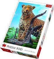 Trefl 500 Piece Adult Large Wild Leopard Picture Majestic Floor Jigsaw Puzzle
