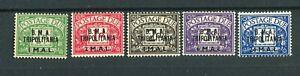 BOIC BMA Tripolitania KGVI 1948 postage due set of 5 SG.TD1/5 MNH