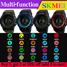 SKMEI Multifunctional Barometer Thermometer Weather forecast Compass Sport Watch