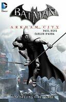 DC COMIC: Batman Arkham City  by Dini, Paul Book (Softcover Novel)