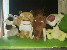 Lote de Peluches Ice Age