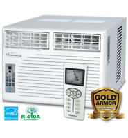 Soleus Air 10,200 BTU 3-Speed Window Air Conditioner w/  Dehumidifier Mode