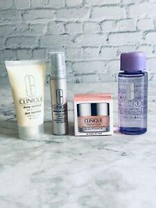4-Piece Clinique Skincare Set Travel Size Brand New H24