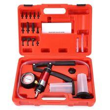Hand Held DIY Vacuum and Pressure Pump Tester Kit Brake Bleeder Set for Car